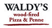Waldy's wood-fired Pizza...